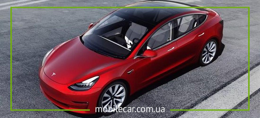 Tesla model 3 новинка 2018 года