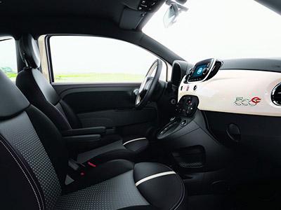 Салон Fiat 500e