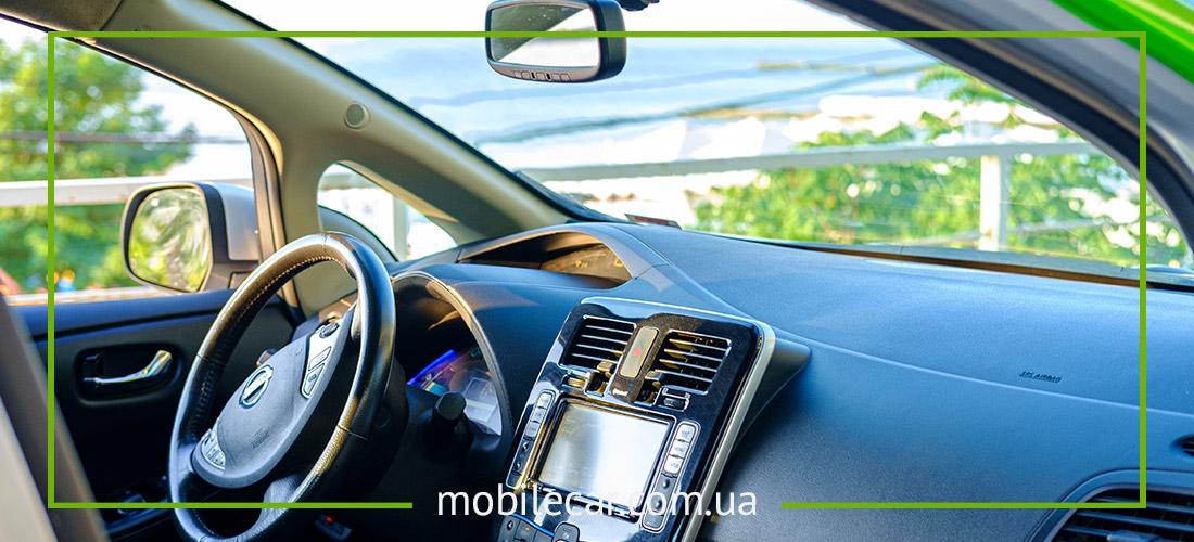 Nissan Leaf для работы в такси
